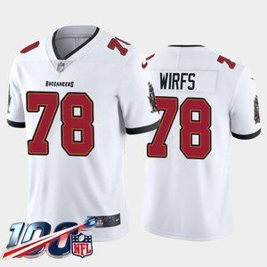 Tampa Bay Buccaneers Tristan Wirfs White Jersey